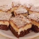 LEDENE KOKOS KOCKE: Zanimljiva varijanta sa čokoladnom korom