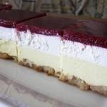 VOĆNI UŽITAK: Recept za fantastičan kolač bez pečenja, gotov za tren