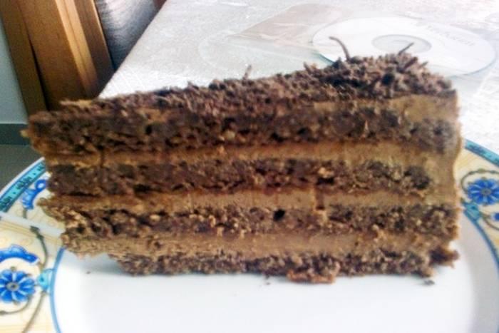 GABON TORTA: Klasična torta bez trunčice brašna