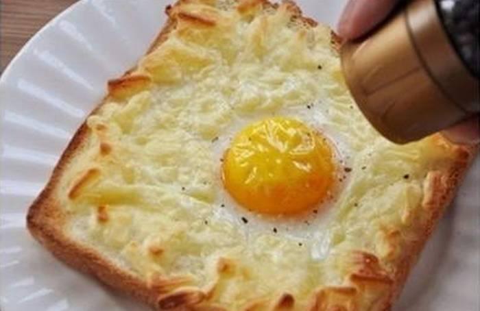 FANTASTIČNA IDEJA ZA DORUČAK: Jaje na oko u kriški kruha FOTO
