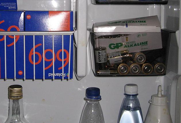 Baterije u frižideru